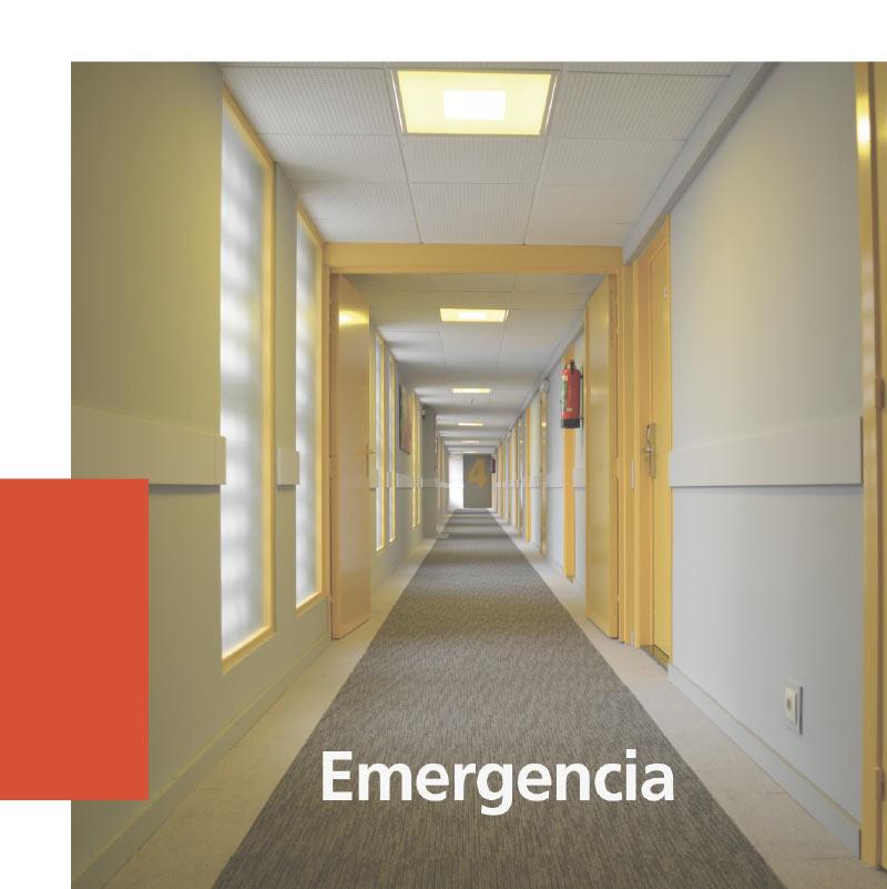 Luminaria de emergencia